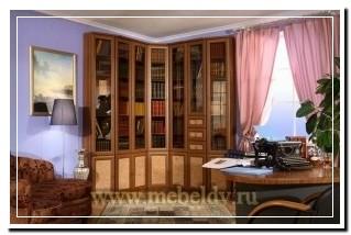 шкафы для библиотеки