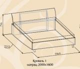 AURUM Кровать 1