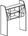 Конфетти-шкаф 07 надставка