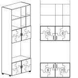 Конфетти-шкаф 06 комб