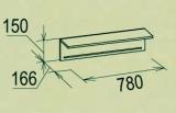 Полка навесная 1 Калейдоскоп