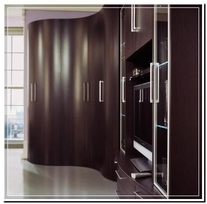 Типы предметов корпусной мебели по характеру фасадов - модел.